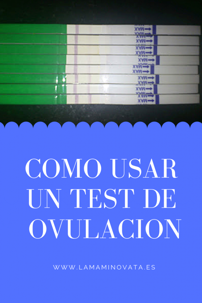 Como usar un test de ovulacion