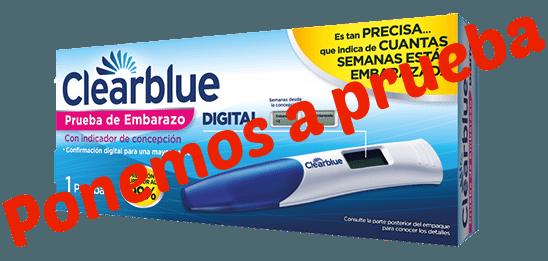 Embarazo de 4 antes dias clearblue test