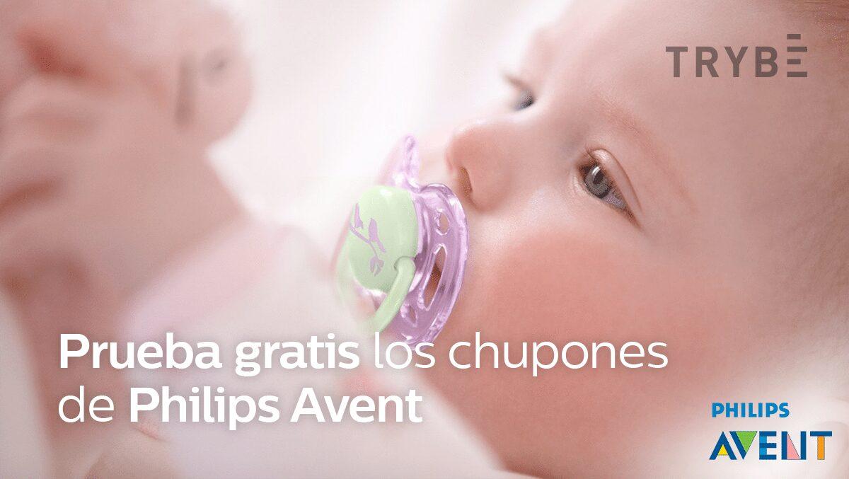 Prueba gratis los chupetes Philips Avent con Trybe