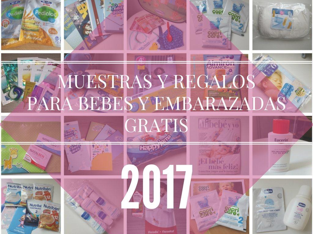 Muestras gratis para bebes y embarazadas 2017