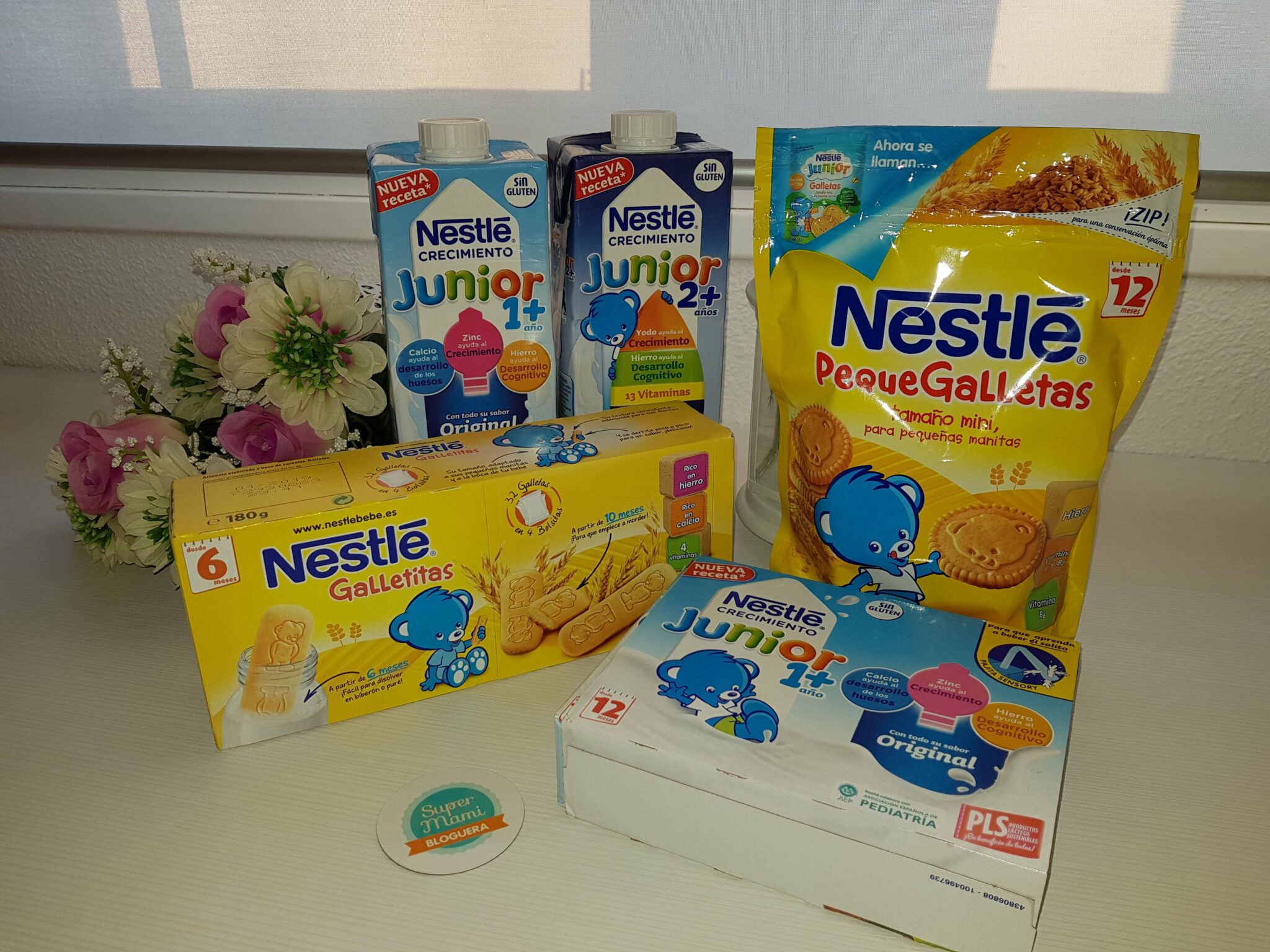 SuperMami bloguera de Nestle Bebe
