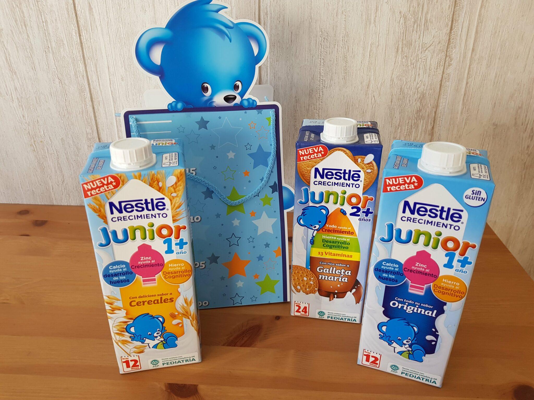 Probamos Nestle Junior Crecimiento y ¡Sorteamos un pack!