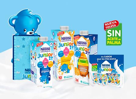 Probamos Nestle Junior Crecimiento
