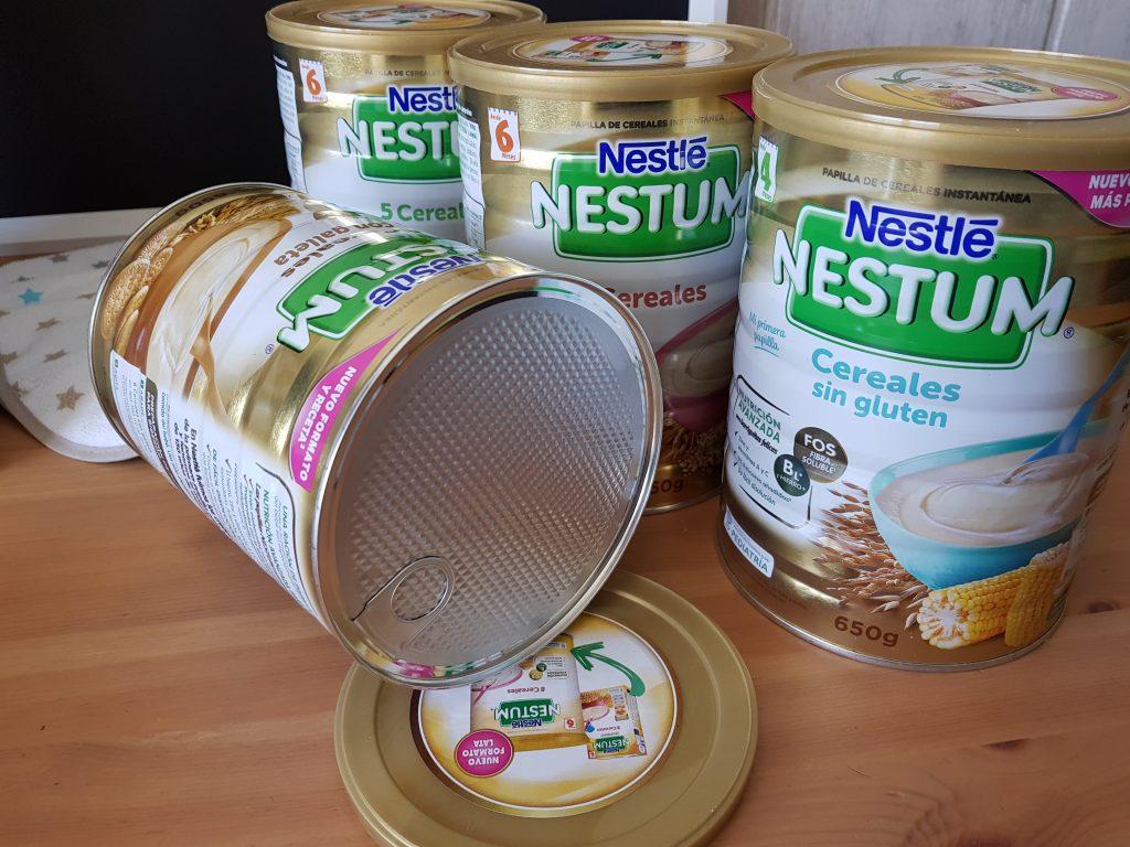 Conociendo la nueva gama de papillas de cereales Nestum