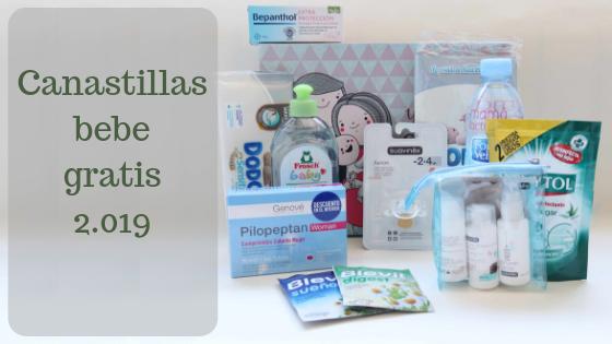 Canastilla bebe gratis 2019