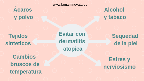 cuidar una piel con dermatitis atópica