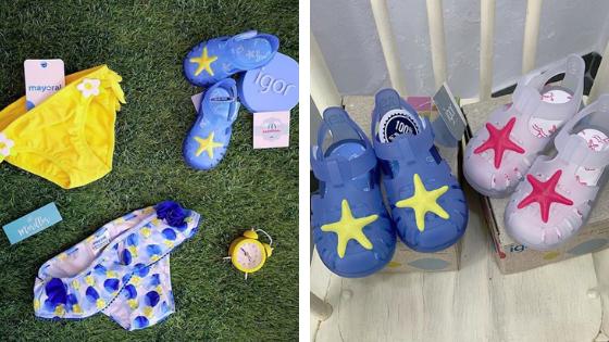 Como elegir zapatos de verano para niños