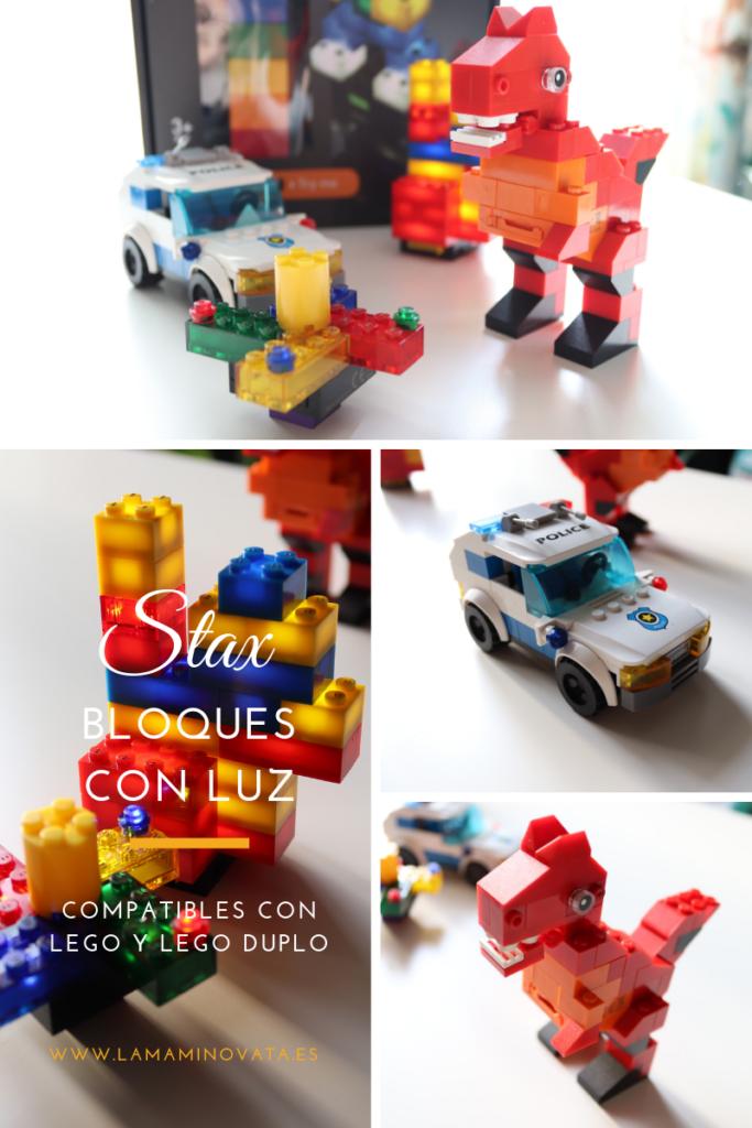 bloques de luz Stax compatibles con Lego