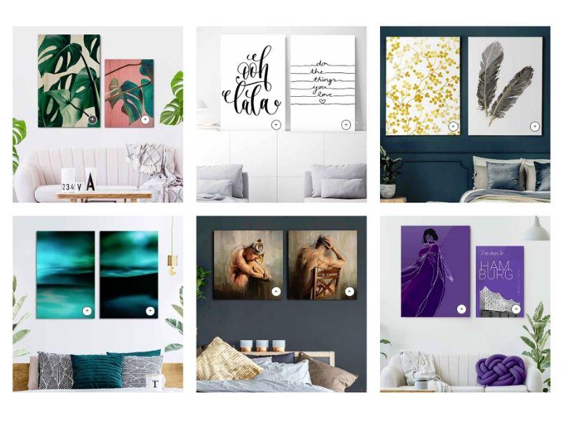Inspiración para paredes con Posterlounge - La Mami Novata