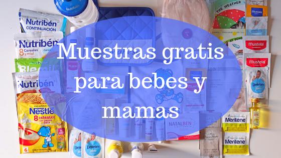 Muestras gratis para bebes y mamas 2019