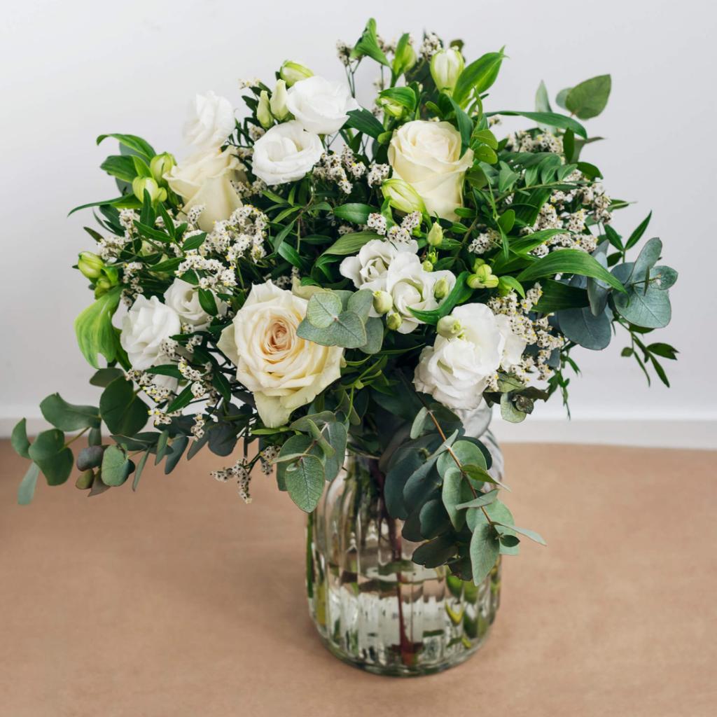 Auto regalarse flores ramo Alpine Essence