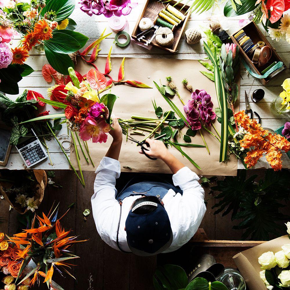 Auto regalarse flores ramos pre diseñados