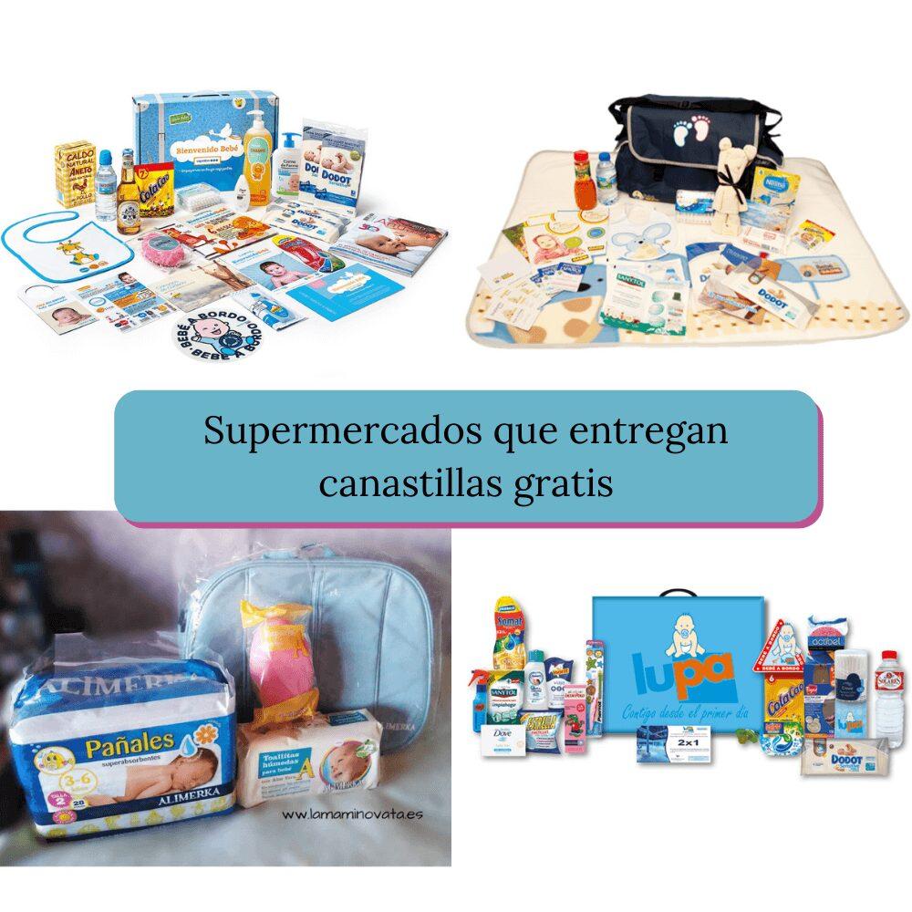 canastillas gratis supermercados gadis, caprabo, lupa y alimerka