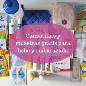 Canastillas y muestras gratis para bebe y embarazada