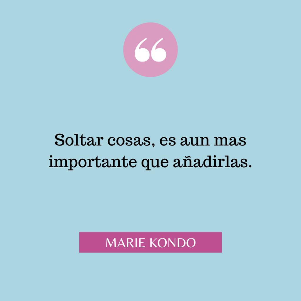 Citas Marie Kondo