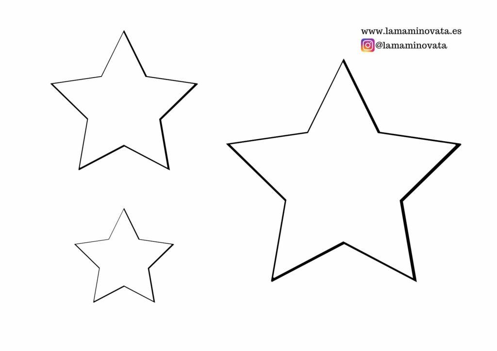Plantilla estrellas gratis